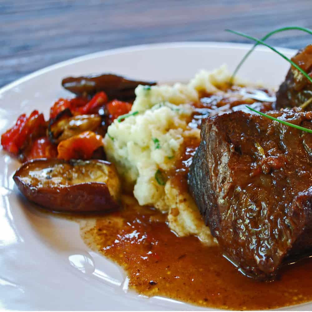 Roasted Bison Steak