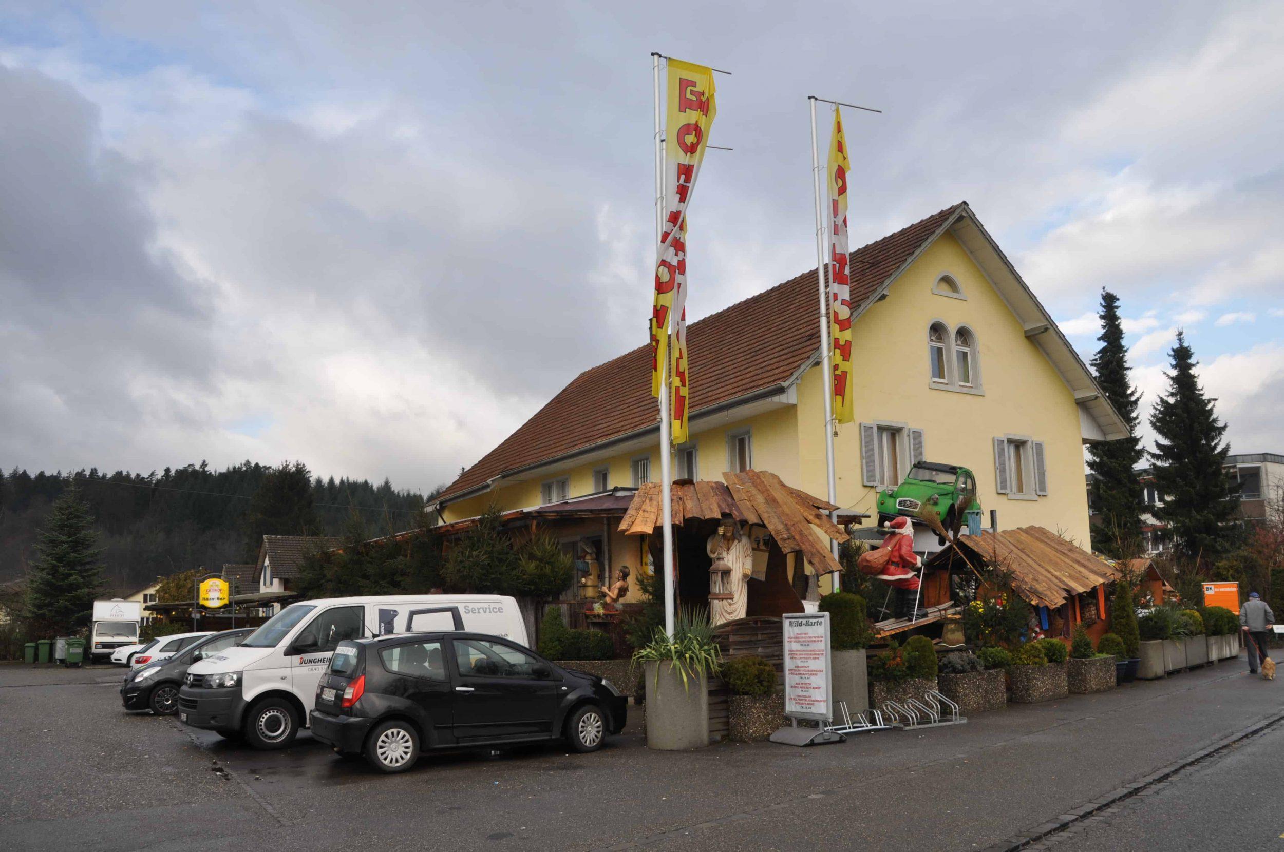Big Sterne Restaurant Hausen